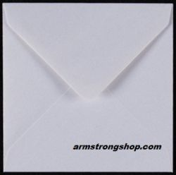 CENTURA ENVELOPES England - Перлени пликове 155 X 155 мм. WHITE
