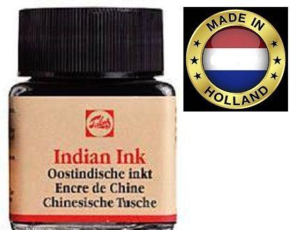 Indian Ink TALENS - Фин графичен черен туш 20ml