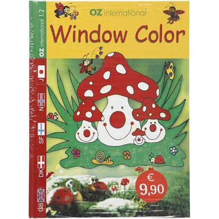 WINDOW COLOUR BOOK - Книжка наръчник oZ