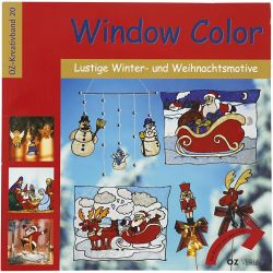 WINDOW CHRISTMAS COLOUR BOOK - Книжка наръчник oZ