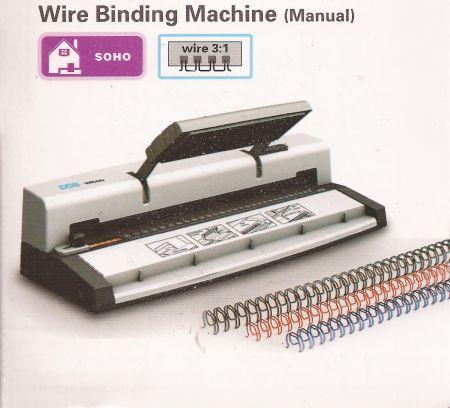 CRAFTERS WIRE BINDING MACHINE - Машина за перфориране и подвързване със спирали 3:1