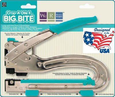 Crop-a-dile  BIG BITE - Профи инструмент за монтиране на айлети (капси) с дълго рамо