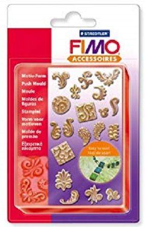 FIMO PUSH MOULDS - СИЛИКОНОВИ форми 3D отливки