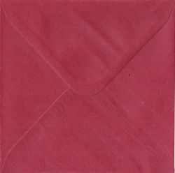 CENTURA ENVELOPES England - Перлени пликове 155 X 155 мм. CHERRY