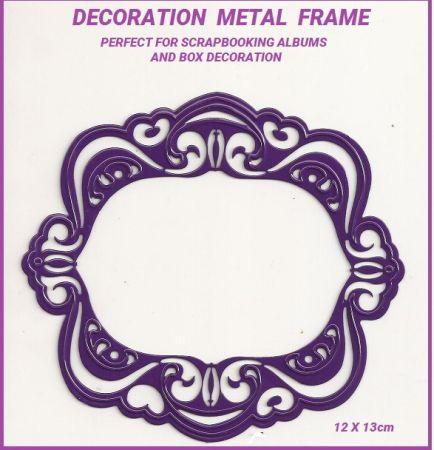 METAL DECO FRAME - Декорационна метална рамка