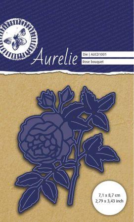AURELIE ROSE BOUQUET Die  - Фигурална щанца за рязане и релеф