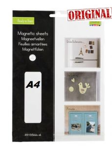 MAGNETIC SHEET ADHESIVE A4 - Магнитен лист самозалепващ А4