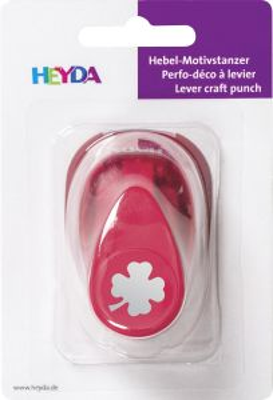 HEYDA Punch  17mm - Дизайн пънч ДЕТЕЛИНА 4 S