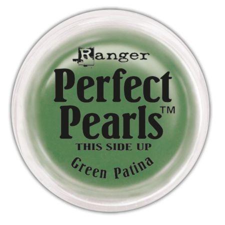 "Perfect pearls Pigment powder - Green patina - Пигмент, ефект ""Перфектни перли"""