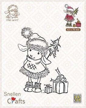 Nellie Snellen STAMPS -LAMMY PRESENTS  - Дизайн силиконови печати