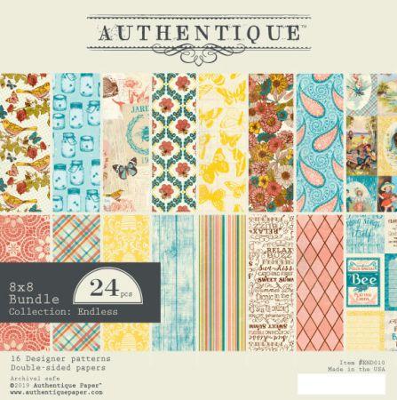 """AUTHENTIQUE,USA - Дизайн блок """"Endiess""""  20,5x20,5"""