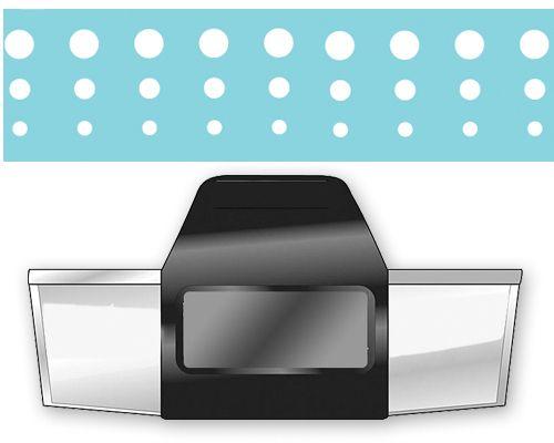 Дизайнерски бордюрен пънч INFINITE DOTS - EKS, USA