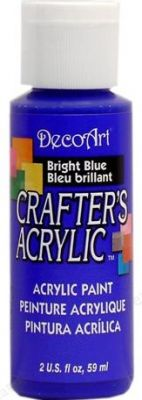 CRAFTERS ACRYLIC USA 59 ml - BRIGHT BLUE