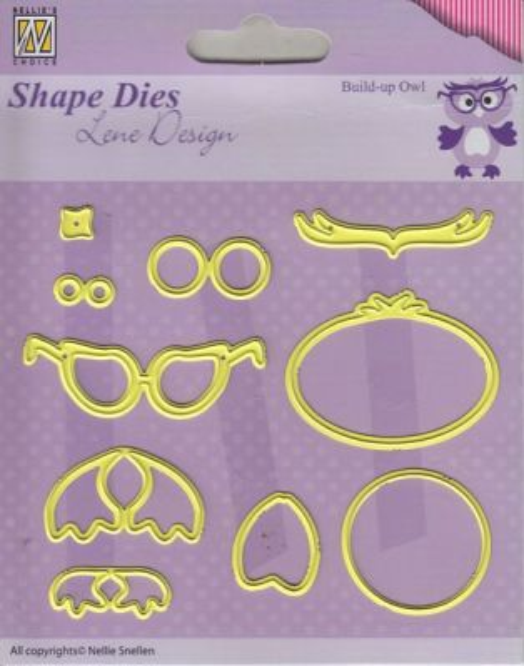 OWL Lene Design DIES - Фигурална щанца за рязане и релеф,. SDL024