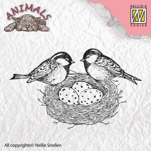 """Animals """"birdsnest"""" ANI013  - Дизайн силконов печат"""