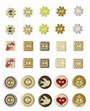 Buttons Epoxy by ARTEMIO - Деко копчета FUN