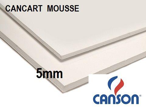 CANSON MOUSSE 5mm - ПЕНОКАРТОН 50x70  5мм