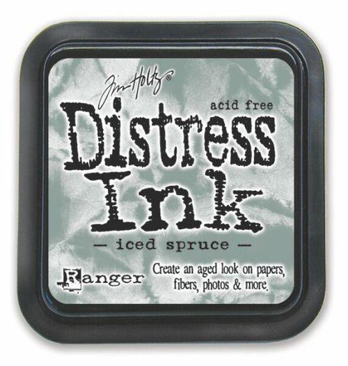 "Distress ink pad by Tim Holtz - Тампон, ""Дистрес"" техника - Iced Spruce"