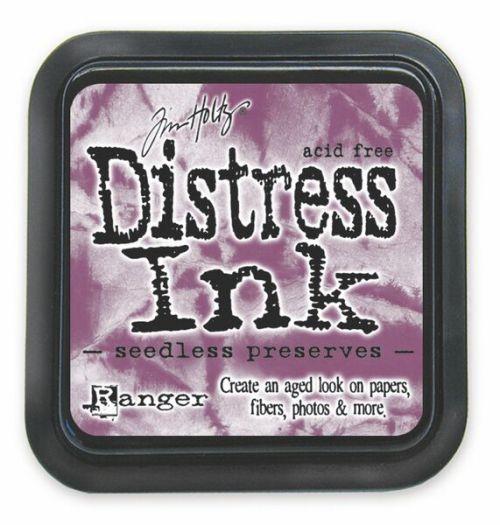 "Distress ink pad by Tim Holtz - Тампон, ""Дистрес"" техника - Seedless Preserves"