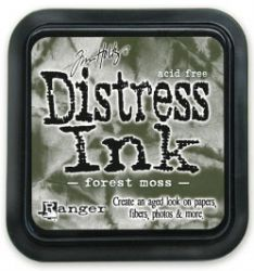 """Distress ink pad by Tim Holtz - Тампон, """"Дистрес"""" техника - Forest moss"""