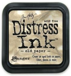 """Distress ink pad by Tim Holtz - Тампон, """"Дистрес"""" техника - Old paper"""