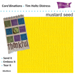 Tim Holtz Distress -`Mustard seed`  30.5х30.5 см.