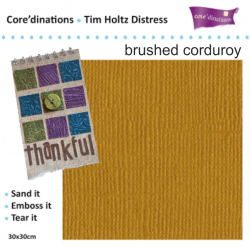 Tim Holtz Distress -`Brushed corduroy`  30.5х30.5 см.