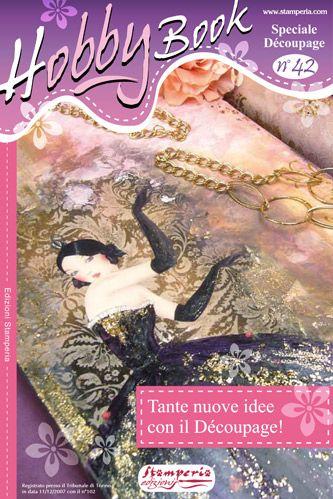 HOBBY Book No42 - Декупажни идеи и работа ,Stamperia
