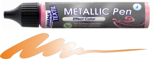 JAVANA METALLIC PEN - Контур металик за текстил и др., 29 мл. - Златен бронз