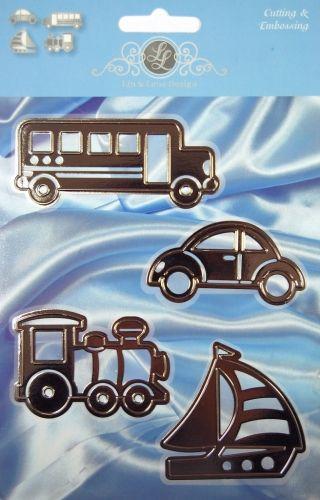 AUTO Lin & Lene Design - Щанци за рязане и ембос - 1201/0037