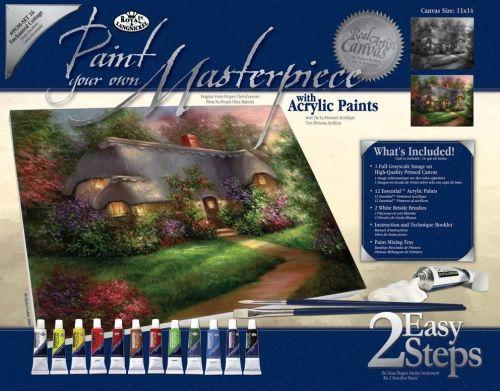 PAINTING MASTER SET ,USA  - Мастър сет рисуване на платно 350 x 280mm * SET16