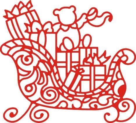 Cheery Lynn ,USA - Шаблон за рязане и ембос DL173