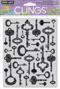HERO ARTS, USA - `CLING` гумени печати