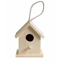 BIRD HOUSE SM - Къщичка за птички малка 10х9х13см