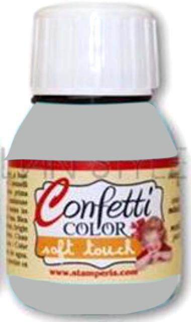 "Confetti COLOR 60 ml - ""КАДИФЕНА"" декор боя  - Saten Light Grey"