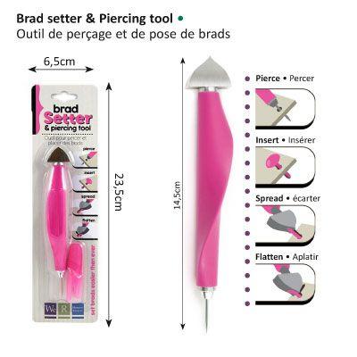 BRADS Setting TOOL - Инструмент за монтиране на `КАБЪРИ` (brads)