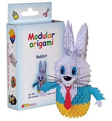 "Комплект Модулно оригами ""Заек"""