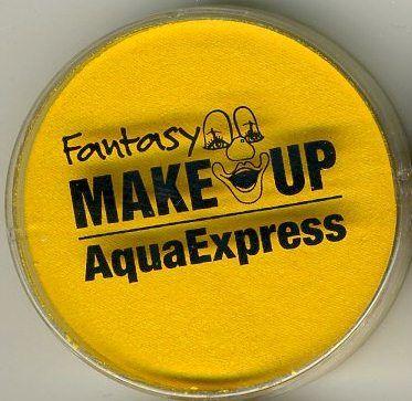 AquaExpress, Germany - `AQUA` Боя за лице и тяло 15гр. - ЖЪЛТА