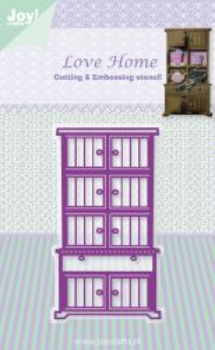 JOY Crafts Love Home - Щанци за рязане и ембос 6002/0338