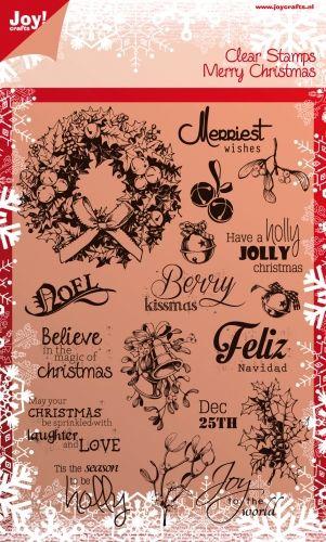 CHRISTMAS by JOY Crafts STAMPS - Дизайнерски печати 15х21см - 0114