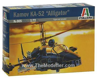 ITALERI KAMOV KA-52 ''ALLIGATOR''