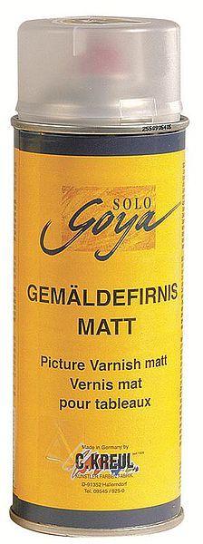 SPRAY GOYA PICTURE VARNISH Matt - Краен ферниз за масло и акрил Мат 400 мл. спрей