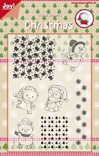 CHRISTMAS by JOY Crafts STAMPS - Комплект печати 15х10.5см  0120