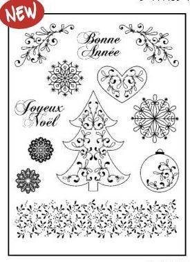 CHRISTMAS by ARTEMIO  STAMPS - Дизайнерска колекция печати 14.5Х18см.