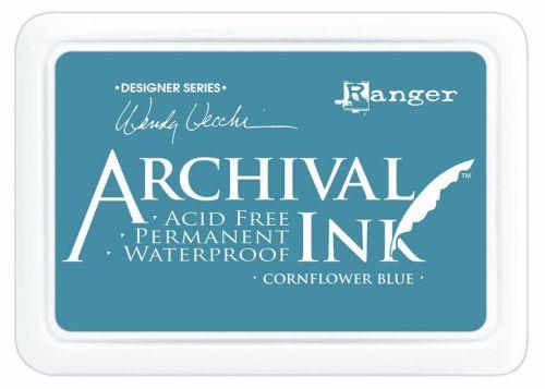 ARCHIVAL INK PAD, USA - Tампон с архивно перманентно мастило, Cornflower Blue