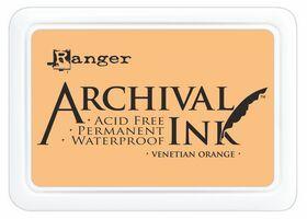 ARCHIVAL INK PAD, USA - Tампон с архивно перманентно мастило, Venetian Orange