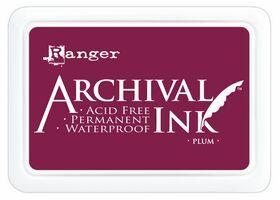 ARCHIVAL INK PAD, USA - Tампон с архивно перманентно мастило, Plum
