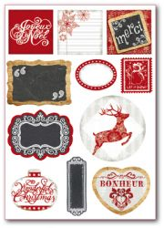 DECO Labels , Stamperia -  ДЕКО СТИКЕРИ 15х21см / 300гр