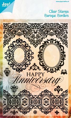 BIRTHDAY / ANNIVERSARY by JOY Crafts STAMPS - Дизайнерски печати 15х21см - 0307