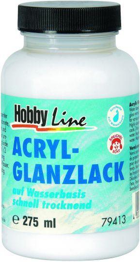 ACRYL GLANZLACK AQUA, Germany - Декорационен Акрилен лак висок гланц 250мл